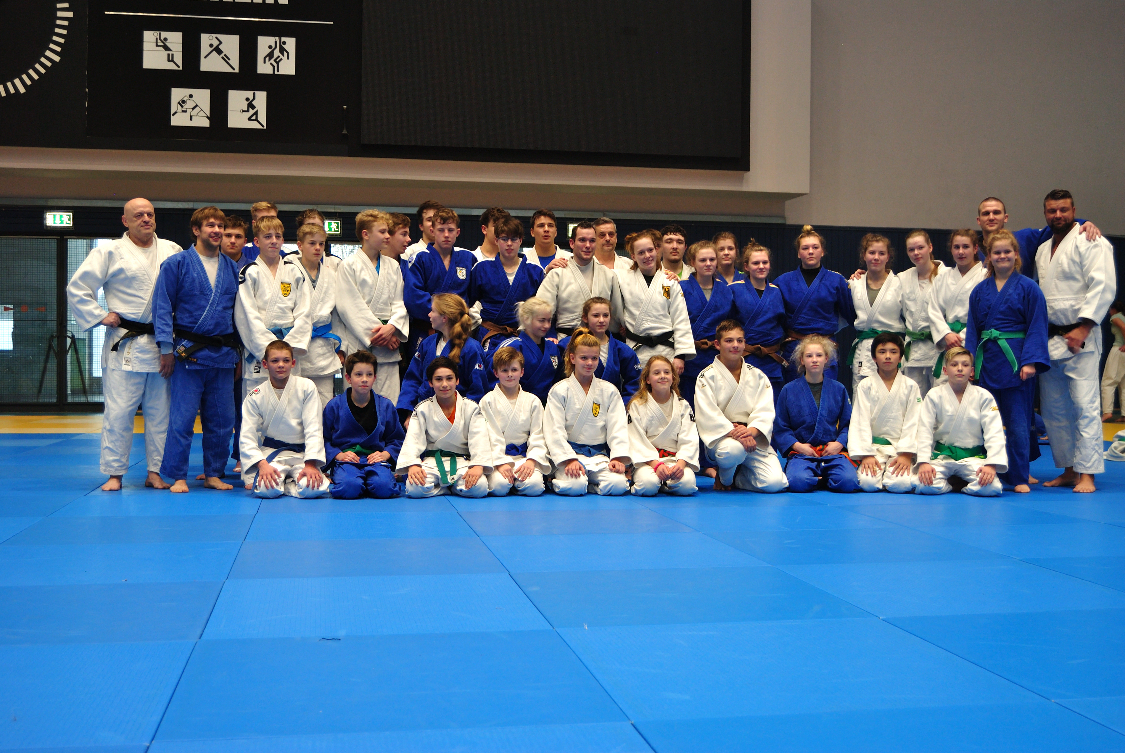 Judoka aus MV nutzen ITC in Berlin zur Vorbereitung auf 2019
