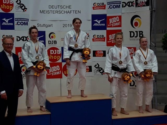 Annika Würfel gewinnt Bronze bei den Deutschen Meisterschaften der Frauen