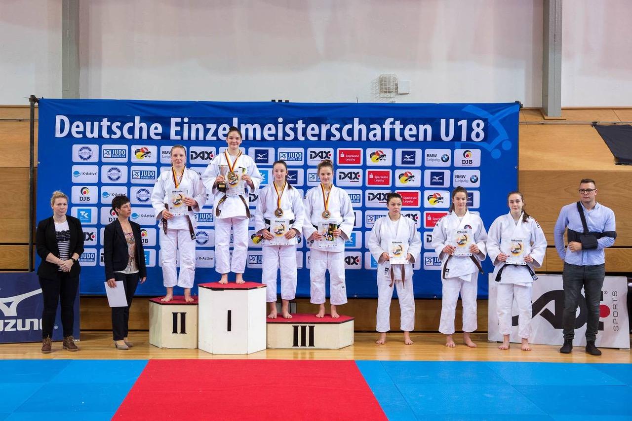 Jule Hempel und Tia Scheerat gewinnen die Silbermedaille bei nationalen Titelkämpfen