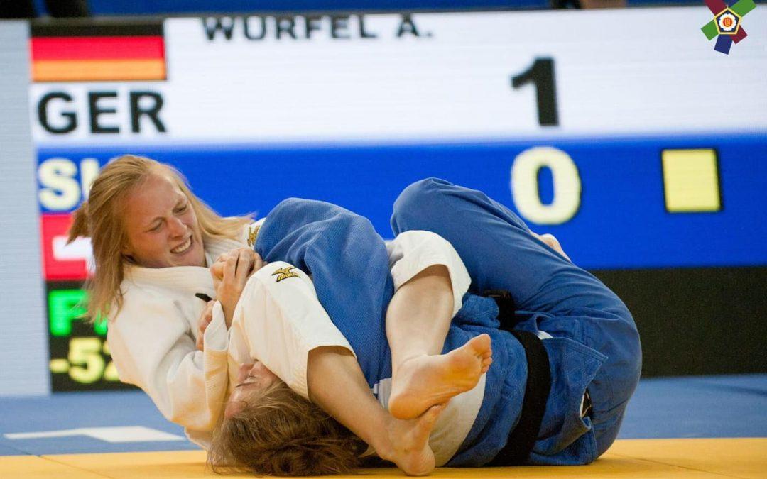 Annika Würfel gewinnt Gold in Kaunas