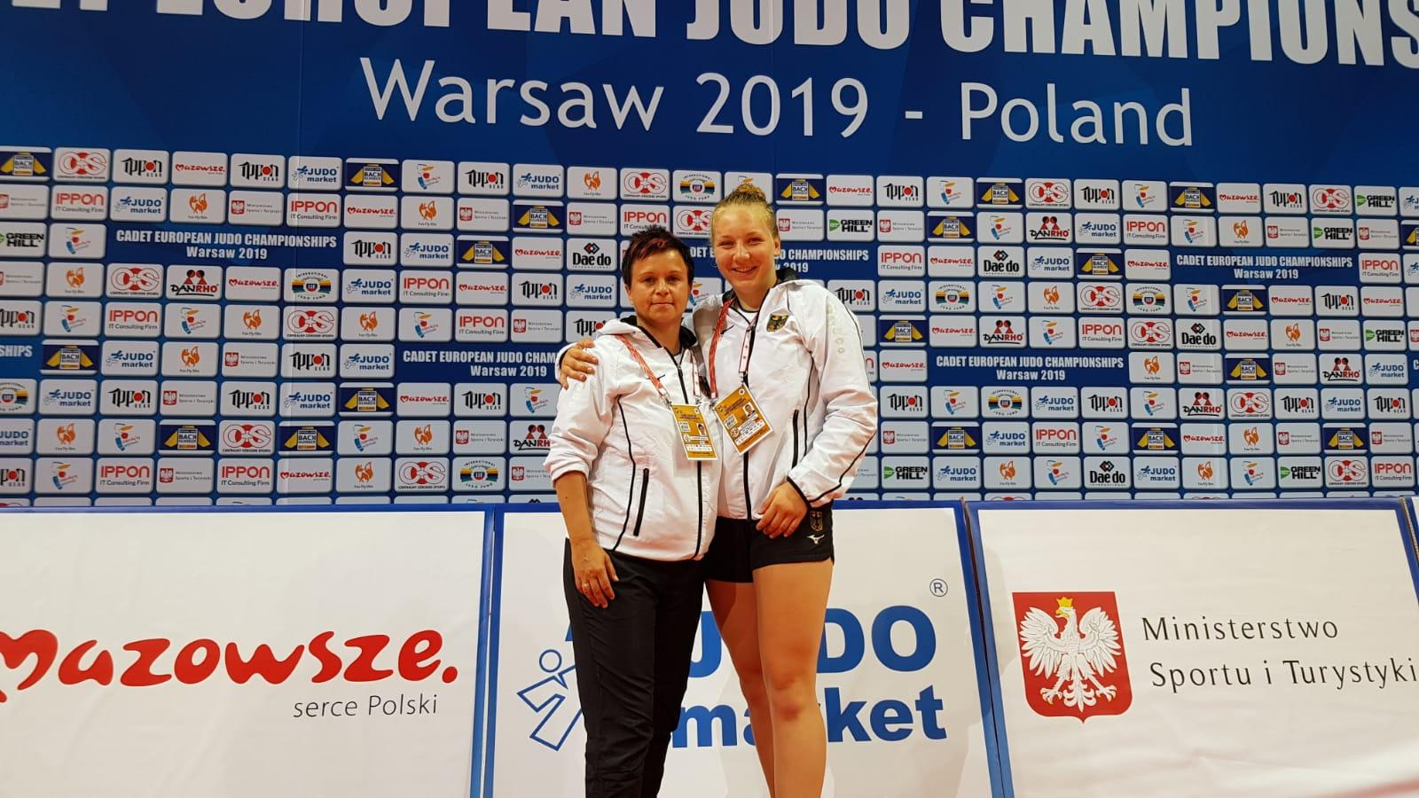 Tia Scheerat erkämpft 7. Platz bei der EM der AK U 18 in Warschau