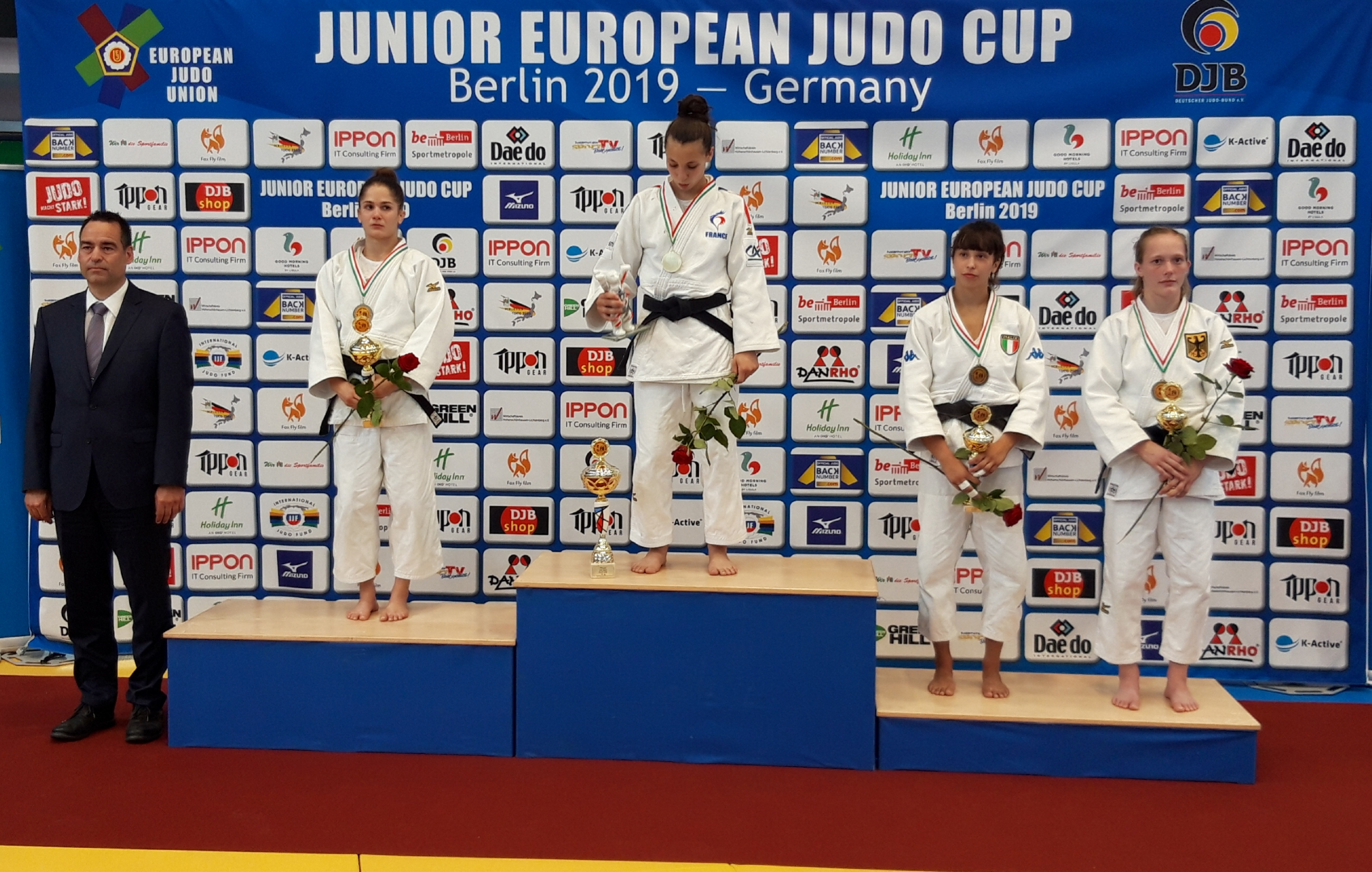 Annika Würfel erkämpft Bronze beim Junior European Cup in Berlin