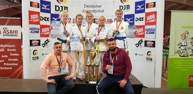KG Jarmen/Neubrandenburg gewinnt Bronze bei DJP U14