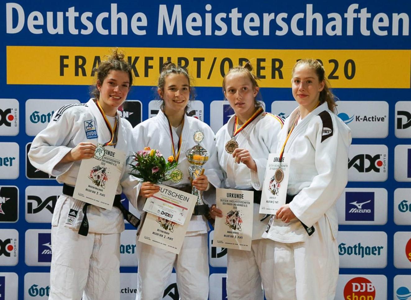 Annika Würfel erkämpft einzige Medaille für den JVMV