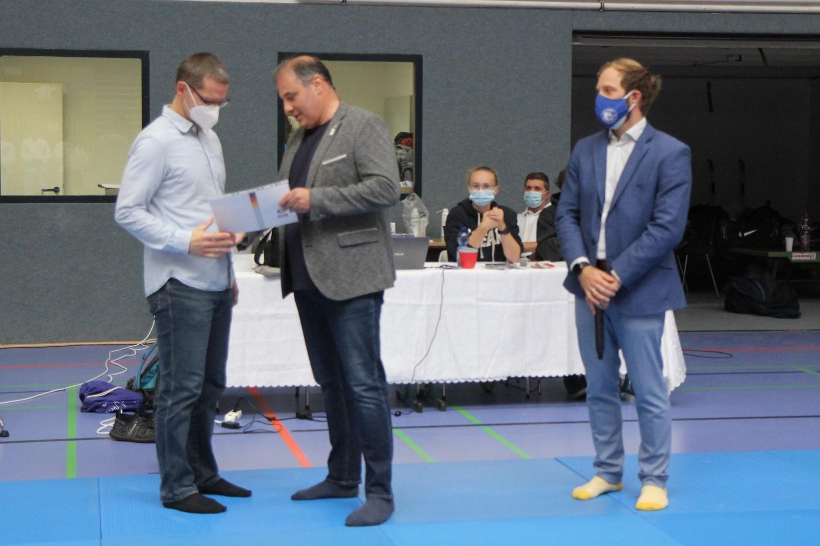 Hohe Auszeichnung bei Meisterschaft in Greifswald vergeben