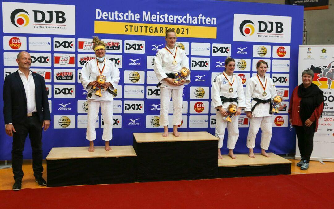 Annika Würfel erkämpft Gold bei Deutscher Meisterschaft in Stuttgart