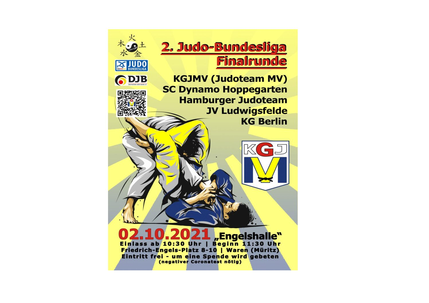 Finale der 2. Judo Bundesliga Nord-Ost