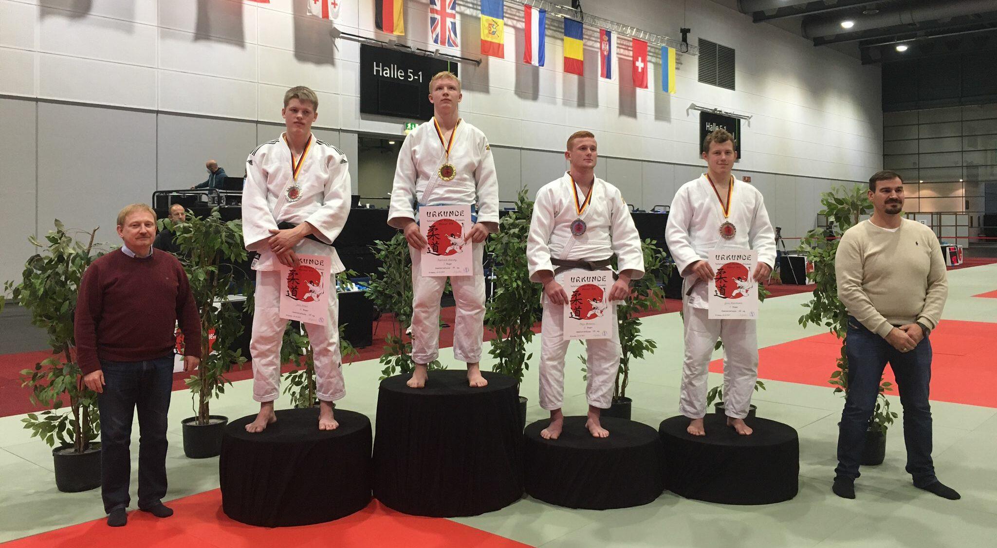 Yves Tepelmann erkämpft Medaille bei internationalen Bremen Masters